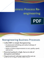 Business Process Re-Engineering - Lecture 8-9