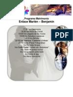 Programa Matrimonio
