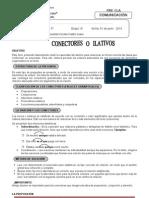 CONECTORES grupo A 4° - 5° -2013-1DEJUNIO
