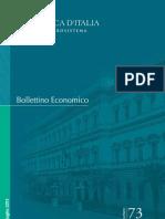 Bollettino Economico - Banca d'Italia. Luglio 2013