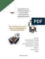 Plan de Produccion Empresa DADA,C.a.fase 1
