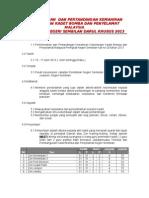 Kertas Kerja Perkemahan Kadet Bomba Dan Penyelamat Peringkat Negeri 2013