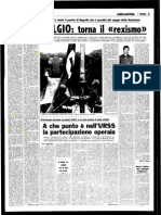 L'Unità 1970 - Il caso Cordero