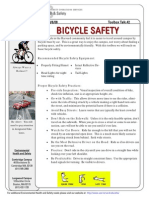 Toolbox Talk Bicycle