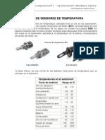 Diagnóstico de Sensores de Temperatura