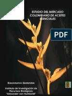 Estudio de Mercado Aceites Esenciales en Colombia