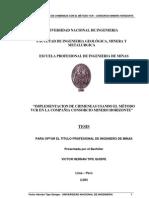 Implementacion de Chimeneas Con El Metodo Vcr-HORIZONTE