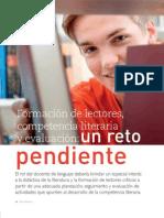 Carlos Sanchez Lozano Formacion de Lectores Competencia Literaria y Evaluacion