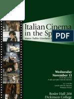 Italian Cinema Giordana poster