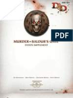 Murder in Baldurs Gate Events Supplement