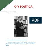 MITO Y POLÍTICA- Por NIMIO DE ANQUIN