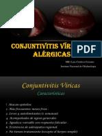 Conjuntivitis Virica y Alergica
