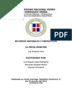 PROYECTO DE APROVECHAMIENTO MÚLTIPLE DEL RÍO MAO