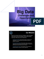 Hunt Slides - Big Data - Challenges and Opportunities