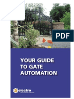 Guide to Gate Automation Automatic Gates