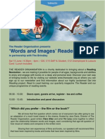 Words and Images Programme 2009