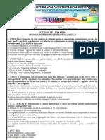 exercícios de revisão II  modernismo 131 1º bim