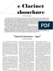The Clarinet Embouchure - Carmine Campione