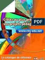 Le catalogue du Canal numérique des savoirs (CNS)