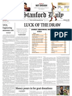 05/26/09 - The Stanford Daily [PDF]