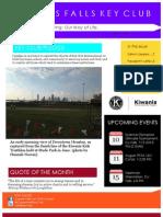 Cypress Falls Key Club July Newsletter