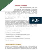 Motivación y aprendizaje - Psico del desarrollo y el aprendizaje