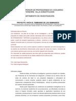 HACIA EL SEMINARIO DE LOS SEMINARIOS ISP 3 V Constitución