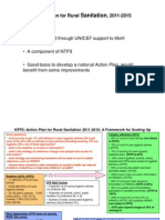 Action Plan for Rural Sanitation - Scaling Up Framework and Process - 3may11