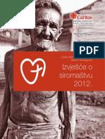 Izvješće o siromaštvu 2012, Caritas BiH