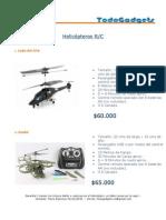 Catalogo Helicópteros 2012