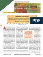 Análise de pigmentos de pimentões por cromatografia em papel