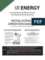 Solar Energy Calentador Solar