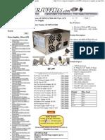 Athena AP-MPS3ATX40 400 Watt ATX Power Supply