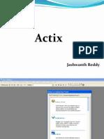 ACtix 1st Part