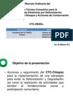 Acciones y seguimiento del CTC-Chiapas