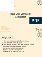 Basic Linux Commands and Installation