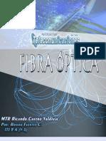 Fibra Óptica (TELECOMUNICACIONES)