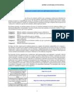 Consideraciones generales acerca de los métodos de ensayo