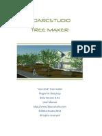 3DArcStudio Tree Maker User Manual