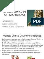 Manejo Clinico de Antimicrobianos