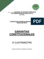 3-¦ GARANT+ìAS CONSTITUCIONALES