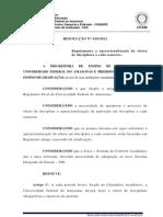 465_RESOLUÇÃO 018_2012-Oferta disciplina semestre