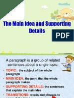 Main Idea and Detail