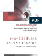 How Chinese Learn Mathematics - Perspectives From Insiders