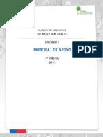 4° BÁSICO - MATERIAL DE APOYO - CIENCIAS NATURALES