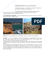 Glossário Geomorfológico - LUCIANO NEVES