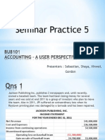 Seminar Practice 5 Answers Updated