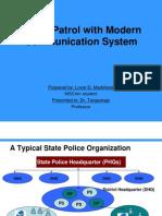 Modernisation of Police Networks