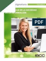 Plan Academico Aprendizaje en La Sociedad de La Informacion