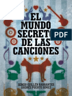 El Mundo Secreto de Las Canciones the Secret World of Songs Spanish Edition